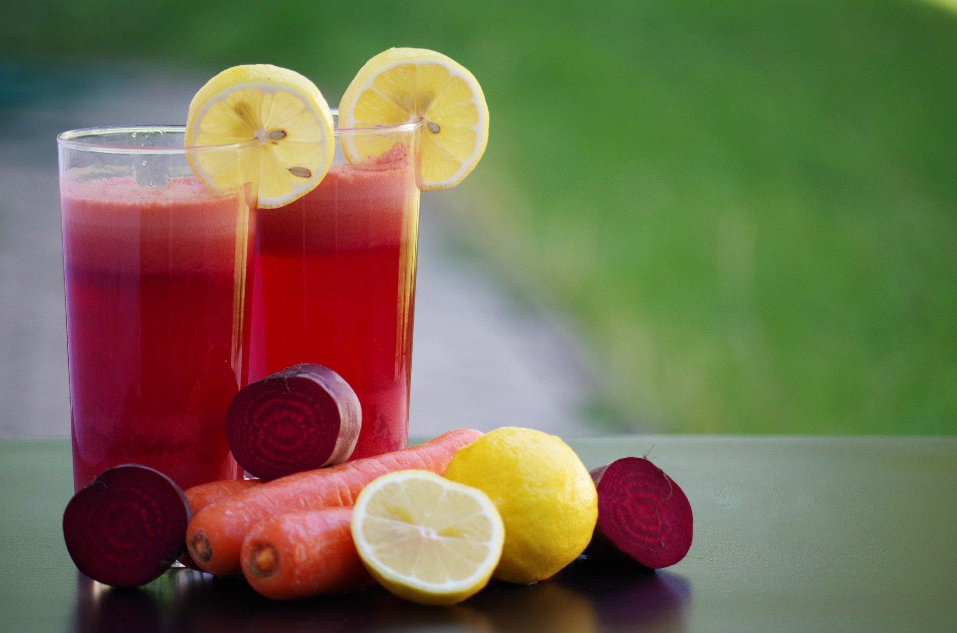 zakwas z buraków- smoothies warzywno owocowe